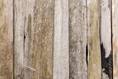 Planking texture of old barn wall Stock Photos