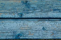 Planking wall blue Royalty Free Stock Images