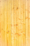 Planking wall yellow Stock Photography