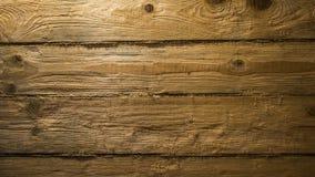 Plankmuur met kabels Stock Afbeelding