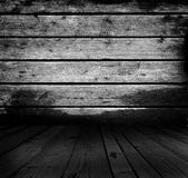 Plankor, golv och vägg för Grunge lantliga verkliga wood royaltyfri fotografi
