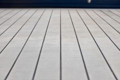 Planks on cruise ship Royalty Free Stock Image