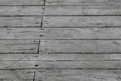 Planks. A fragment of the surface of the pier in Orlowo, Gdynia, Poland stock photos