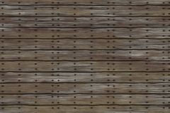 Planks with nails Royalty Free Stock Image