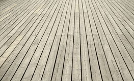 Planks. Of the pier at Orlowo, Gdynia, Poland royalty free stock photo