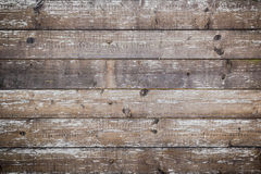 Planks of wood. Damaged by the aging process Royalty Free Stock Photo