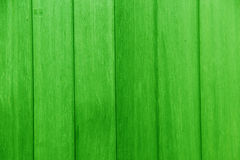 Planks of wood painted green Stock Photos