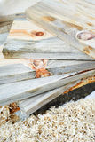 Planks of wood Royalty Free Stock Image
