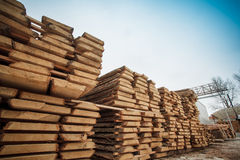 Planks wooden timber Royalty Free Stock Image