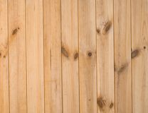 Planks of wooden wall Royalty Free Stock Photo