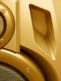 planlägg den höga högtalaren för fi Royaltyfri Foto