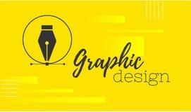 planlägg diagrammet Pennhjälpmedelmarkör Vektordatordiagram baner för formgivare eller illustratör Kurvkontrollpunkterna royaltyfri illustrationer