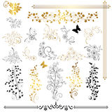 planlägg element stock illustrationer