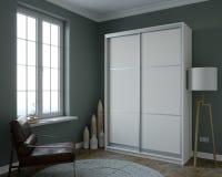 Planlägg ett rum med en minimi av möblemang Vektor Illustrationer