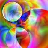 planlägg fractalen vektor illustrationer