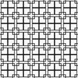 planlägg geometriskt vita dynamiska fyrkanter för abstrakt bakgrundsblack Royaltyfria Bilder