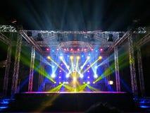 planlägg lighting Fotografering för Bildbyråer