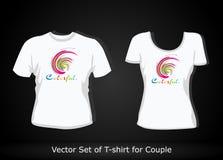 planlägg mallen för skjorta t Fotografering för Bildbyråer