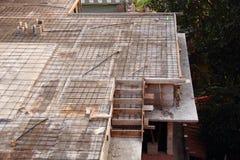 Planlägga för stål av en betong Royaltyfria Bilder
