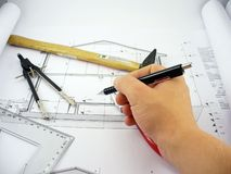 planläggning Arkivfoton