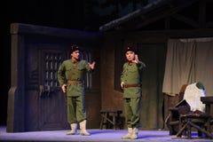 """Planläggningstaktik-Peking opera som """"Taking Tiger Montain By Strategyâ € Fotografering för Bildbyråer"""