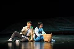 PlanläggningsutsiktJiangxi opera en besman Royaltyfri Fotografi