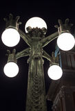 Planlagda lampor Royaltyfria Foton