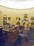 Planlagt av den New York arkitekten James Polshek, William J Clinton Presidential Library inkluderar en kopia av det ovala kontor Arkivfoton