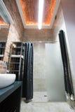 Planlagt litet badrum Royaltyfri Foto