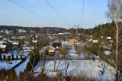 Planlandschaft nahe Bialystok Lizenzfreie Stockfotos