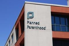 Dayton - Circa April 2018: Planned Parenthood Location. Planned Parenthood Provides Reproductive Health Services in the US I. Planned Parenthood Location Stock Image