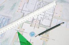 Plannen stock fotografie