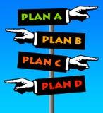 Plannen Royalty-vrije Stock Afbeeldingen