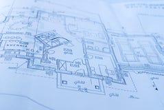 Plannen Stock Afbeelding
