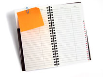 Daily planner Stock Images