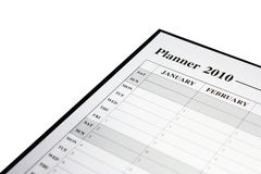Planner for 2010 Stock Photography