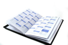 Daily planner Stock Photography