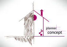 Planner concept Royalty Free Stock Images