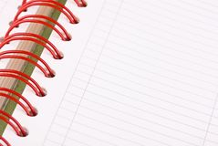 Daily planner, notebook Stock Photos