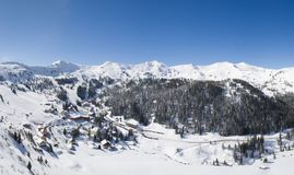 Planneralm dans la région autrichienne de Tauern Photos stock