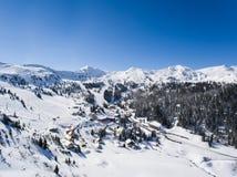 Planneralm dans la région autrichienne de Tauern Photographie stock