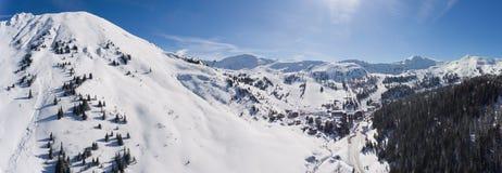 Planneralm i den österrikiska Tauern regionen Royaltyfri Fotografi