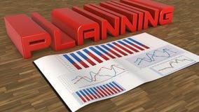 Planning vector illustratie