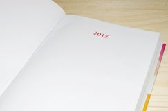 Planning agenda for 2015 Royalty Free Stock Photos