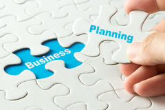 Planning in business concept Stock Images