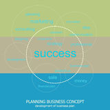 Planning for business success Royalty Free Stock Photography