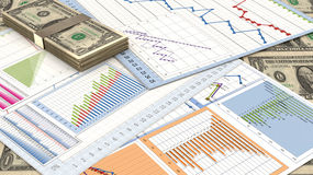 Planning Charts Stock Images