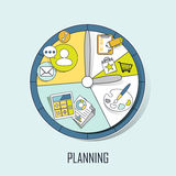 Planning concept Royalty Free Stock Image