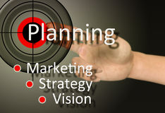 Planning concept Stock Image
