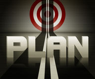 Planning concept Royalty Free Stock Photography